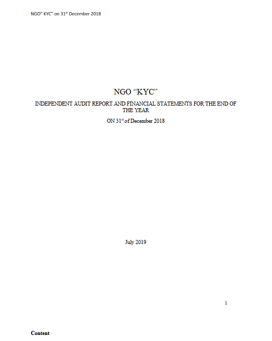 Raporti i Auditimit 26.07.2019